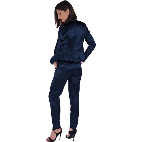 Midnight Blue Pants Tailleur