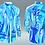 "Thumbnail: Shirt ""I giochi della luce (blu)"""