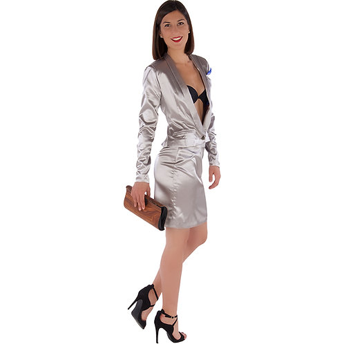 Grey Classic Tailleur