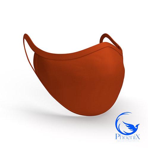 Orange Washable women Mask