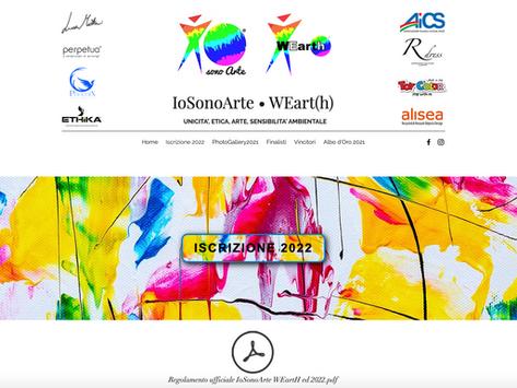 WEarth contest internazionale artisti emergenti. L'edizione 2022 sarà a Riccione. Iscrizioni aperte!