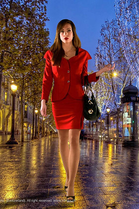 RED tailleur by Rdress couture
