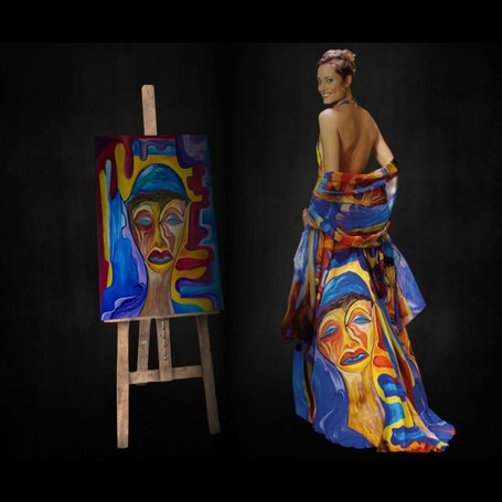 Fashion artwork clothing from Italy.