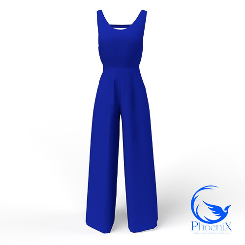 Blue women Jumpsuit