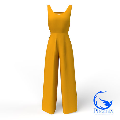 Orange kids Jumpsuit