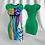 "Thumbnail: Light Green Tubino with Rdress ""Trasparenze"" artwork"