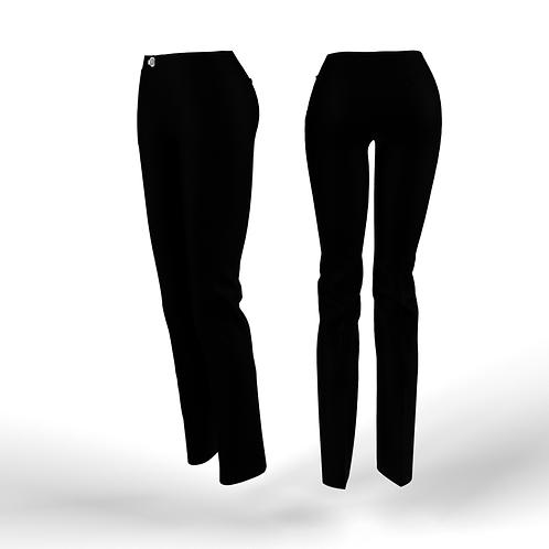 Black low waist women Pants
