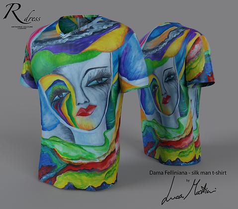"T-Shirt ""Una Dama Felliniana"""
