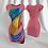 "Thumbnail: Pink Tubino with Rdress ""Odissea"" artwork"