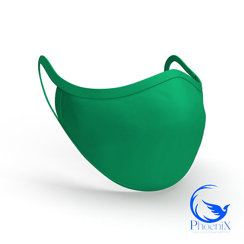 Green Washable kids Mask