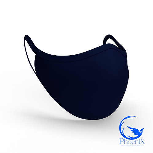 Midnight Blue Washable kids Mask