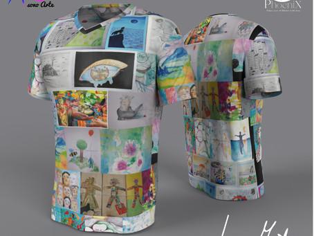 IoSonoArte. Le maglie ufficiali del contest, in edizione limitata.