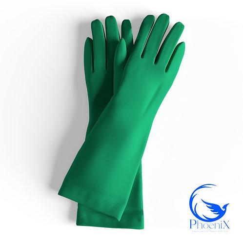 Light Green Short gloves
