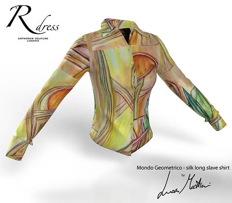"Shirt ""Mondo geometrico"""
