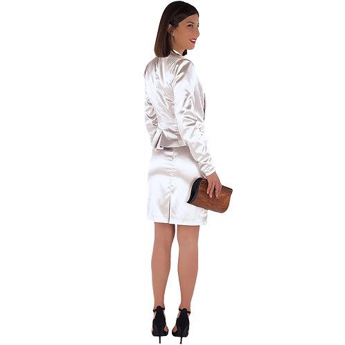 White Classic Tailleur