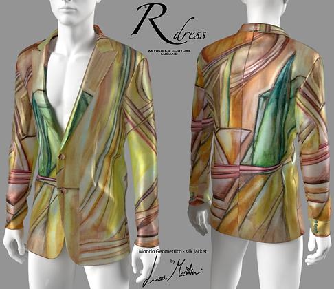"Jacket ""Mondo geometrico"""