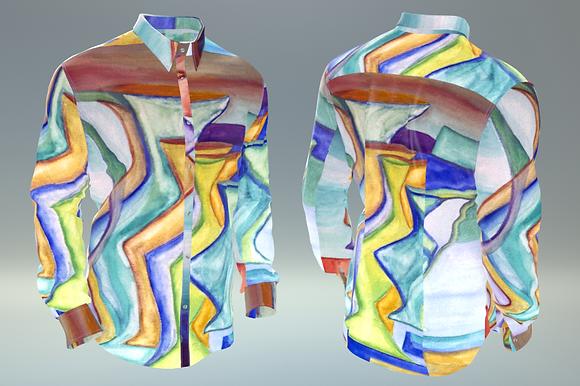 """Shirt """"Anfore di cristallo"""""""