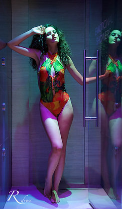 "Swimsuit ""Fiori in Giallo"""
