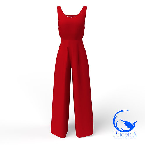 Red women Jumpsuit