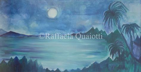 Paesaggio in Blu