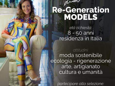 Re-Generation models. In Veneto il primo casting nazionale per modelle sostenibili.