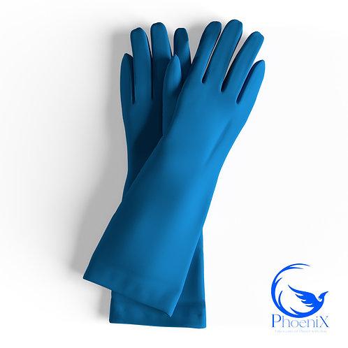 Turquoise Short gloves