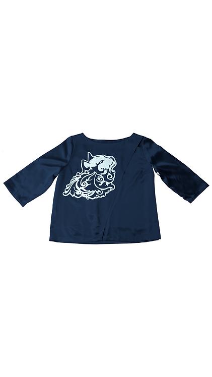 Midnight Blue Miciù Shirt