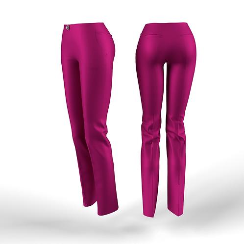 Fuchsia low waist women Pants