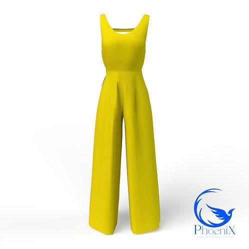 Yellow women Jumpsuit