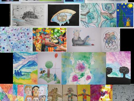 """195 opere d'arte per il contest-scuole """"IoSonoArte"""". Ecco i 30 finalisti nazionali."""