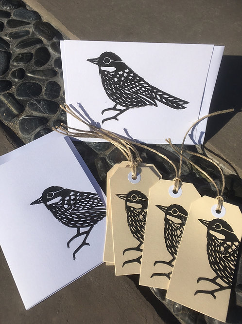 Introduction to linocut: Gift tags, cards and wrapping paper