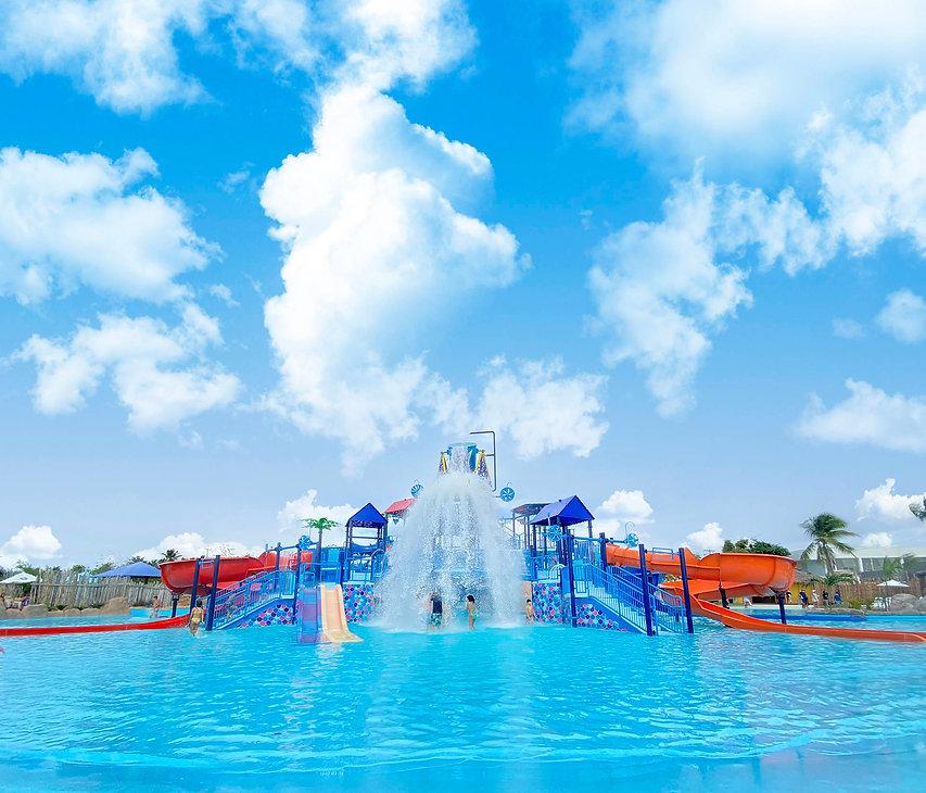 Aqualand - Aquapark Kids Frontal Composi