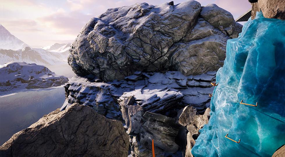 VR Rock Climbing experience