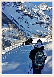 Ciaspolate in Valle d'Aosta