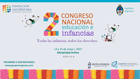 Flyer Congreso Infancias.png