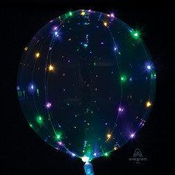 LED Multicolored Light Balloon