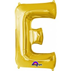 "Super Shape Letter- "" E "" Gold"