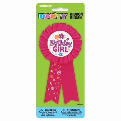 Birthday Girl Award Badge
