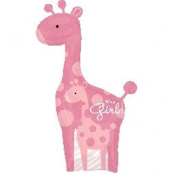 Super Shape -Safari Baby Girl Giraffe