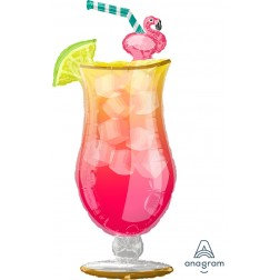 Tropical Flamingo - Super Shape
