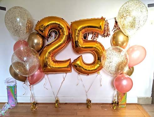 Number Balloons Party Package