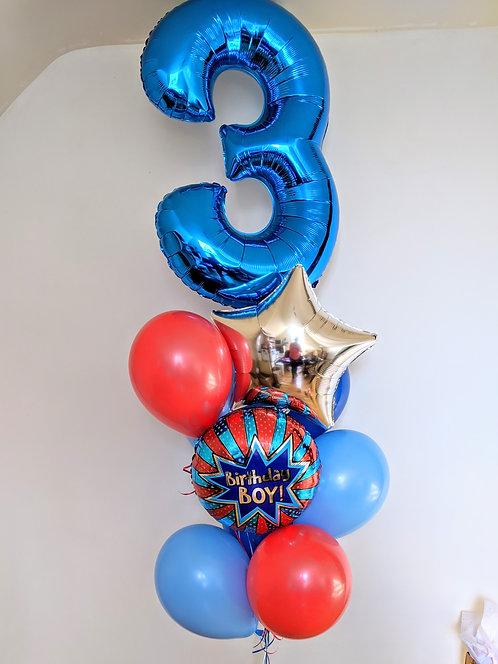 Birthday Boy Number Package