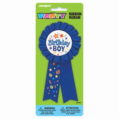 Birthday Boy Award Badge