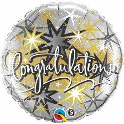 Congratulations Gold, Silver Standard Foil