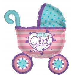 Super Shape -Baby Girl Stroller