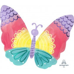 Junior Shape -Butterfly Pastel colours