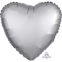 Heart Platinum Satin