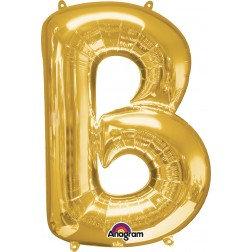 "Super Shape Letter- "" B "" Gold"
