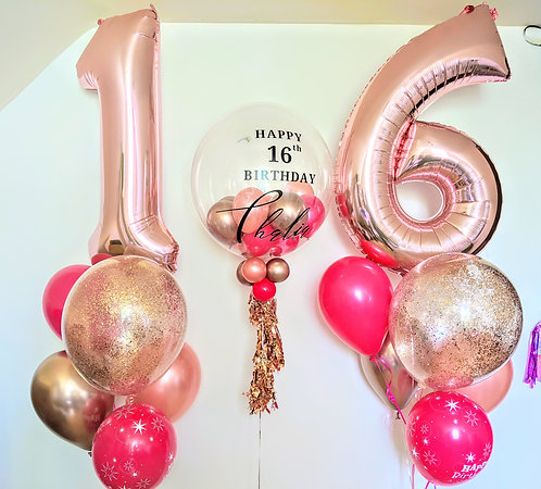 Jazzy  Birthday Package - Numbers & Personalise