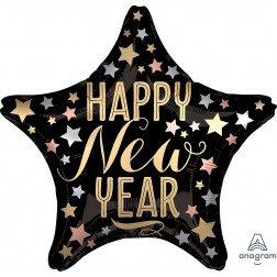 Standard Foil -Happy New Year